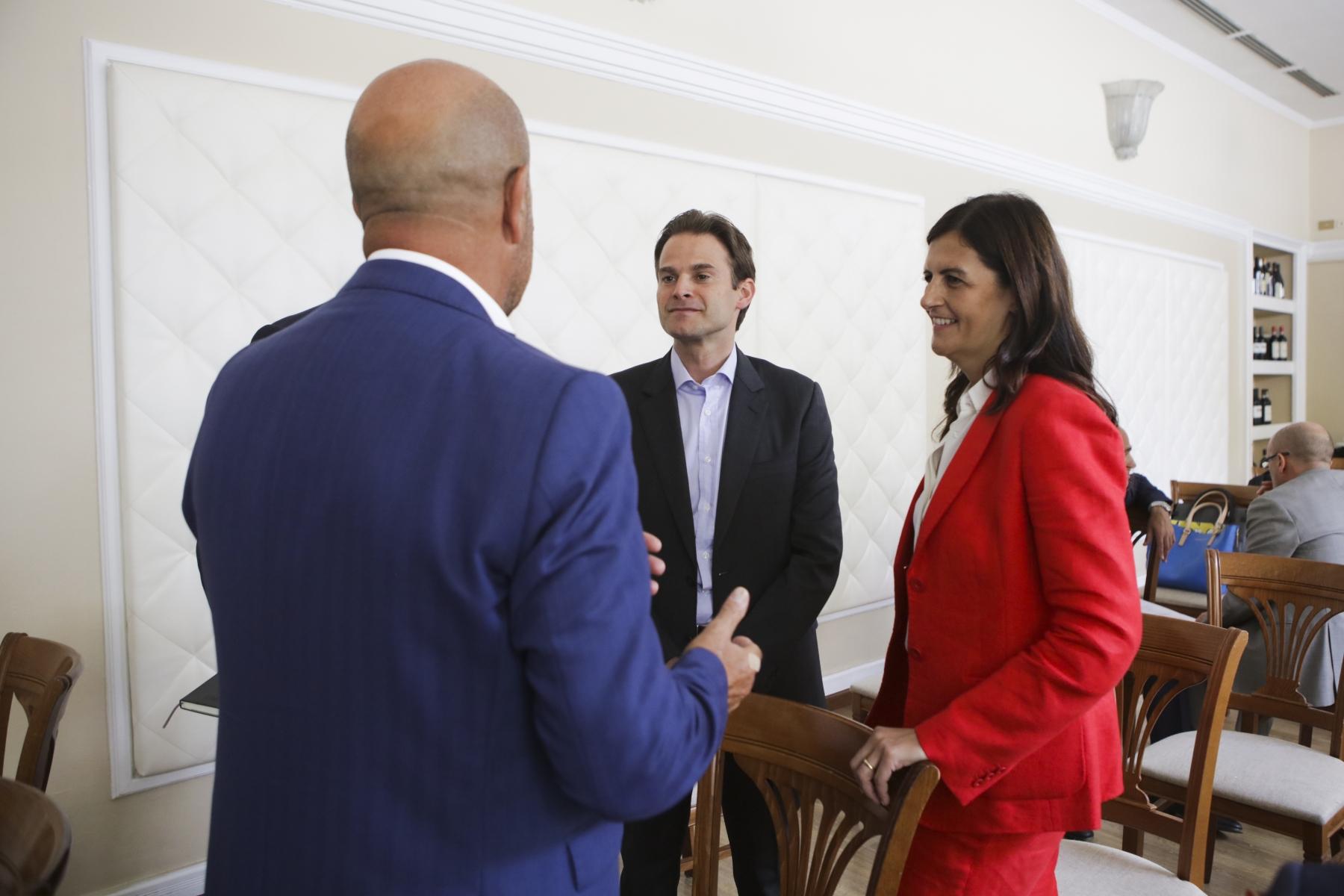 Marta Bucci, Cristian Signoretto e Bruno Tani