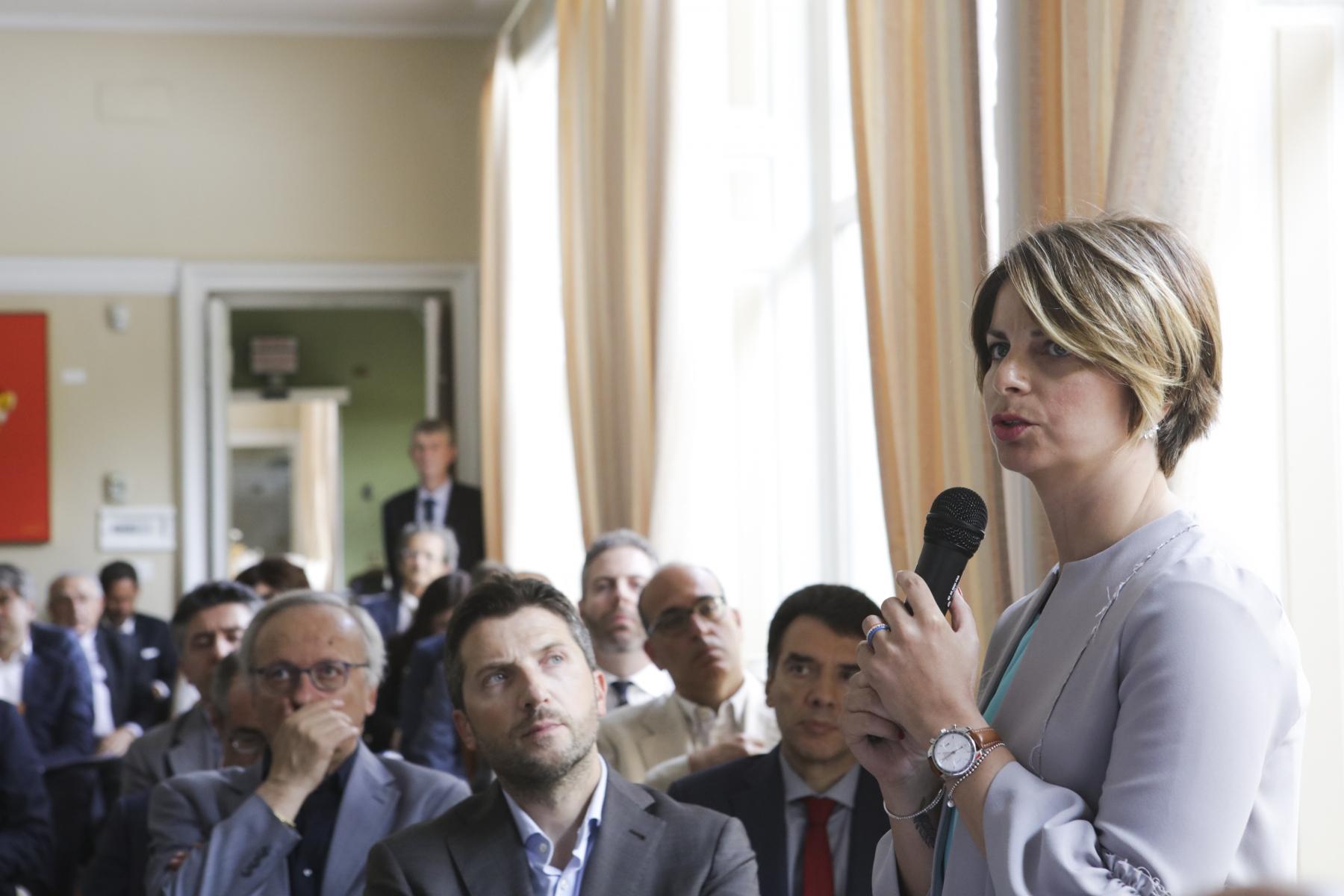 Manuela Pagella: Presidente Commissione Normativa Tecnica della Misura