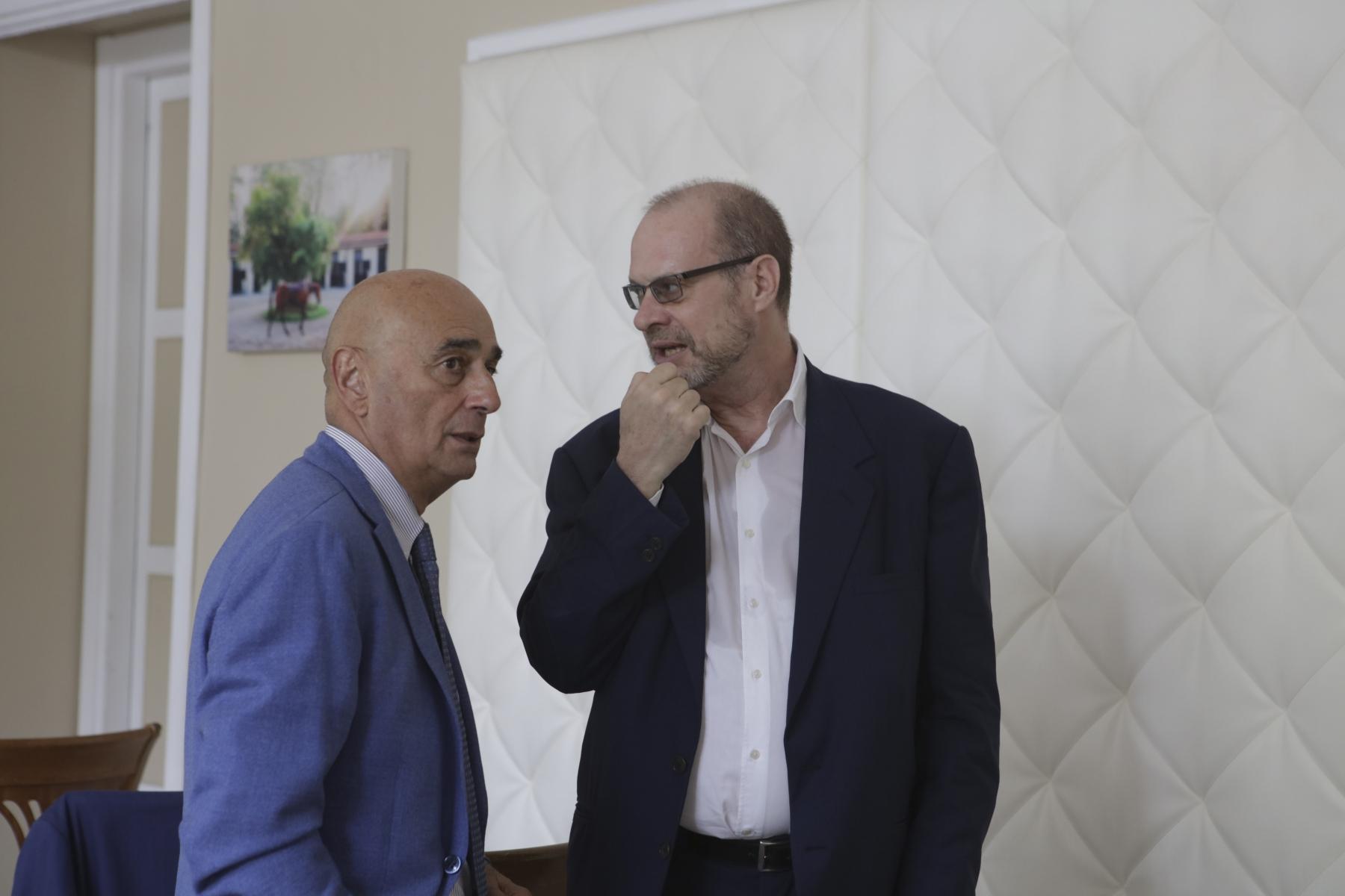 Roberto Spanò e Antonio Enzo Beghelli