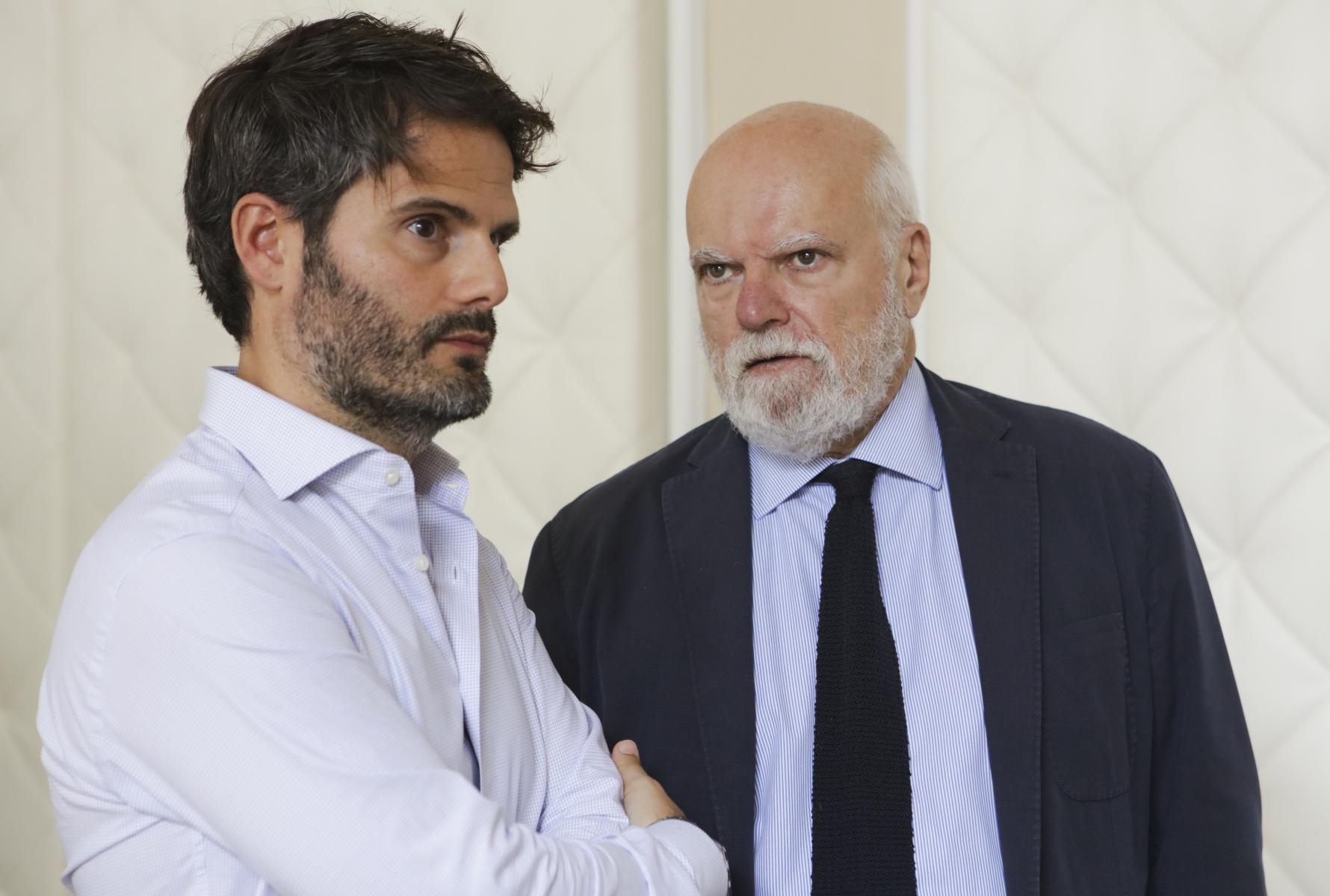 Sandro Lacidogna e Luciano Baratto