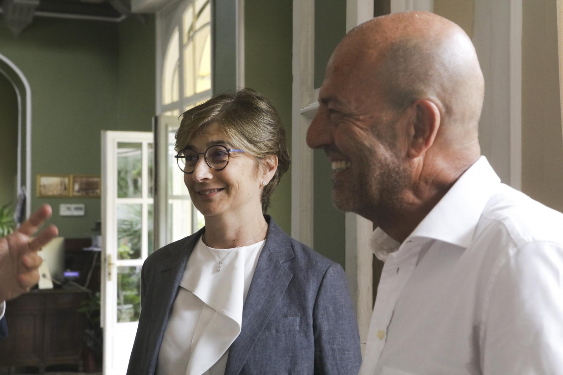 Cristina Crotti e Bruno Tani