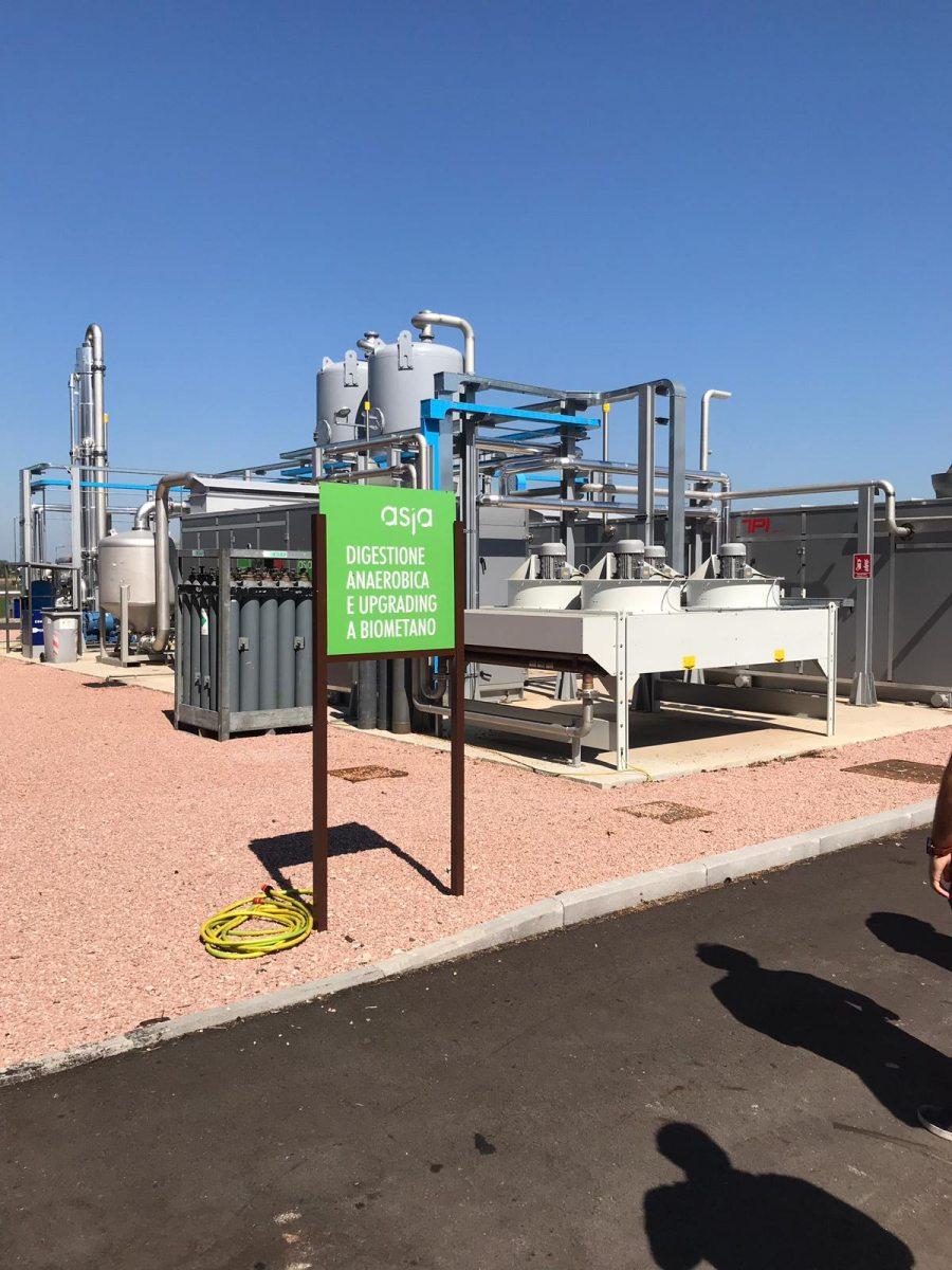 Impianto di Biogas Asja - Foligno