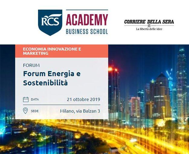 Forum Energia e Sostenibilità