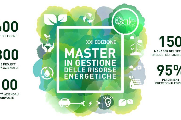 XXI Edizione Master SAFE in Gestione delle Risorse Energetiche