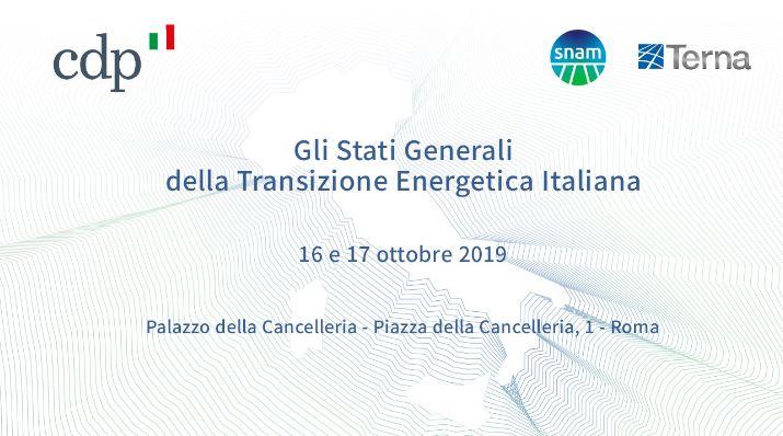 Forum: Gli Stati Generali della Transizione Energetica Italiana