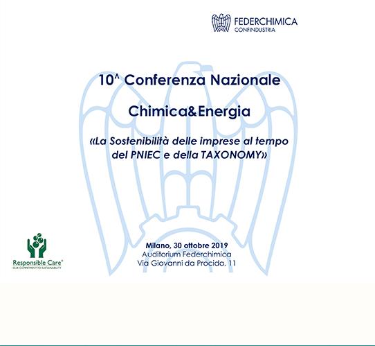 10° Conferenza Nazionale Chimica & Energia