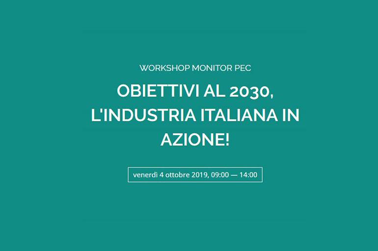 Obiettivi energia e clima al 2030, l'industria italiana in azione!