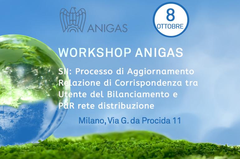 Workshop Anigas su Servizio Informativo Integrato