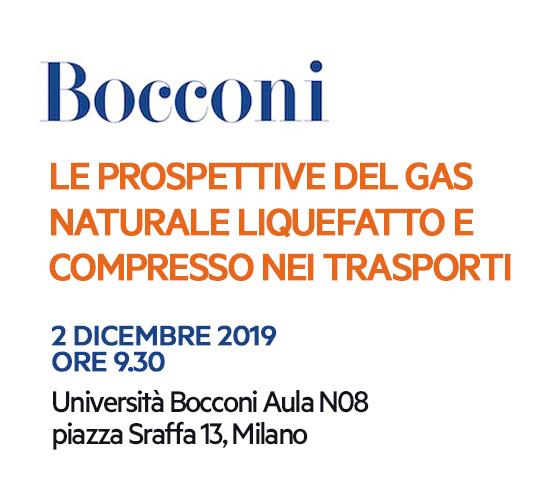 """Convegno Bocconi: """"Le prospettive del gas naturale liquefatto"""""""