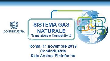 Convegno: Sistema Gas Naturale – Transizione e Competitività