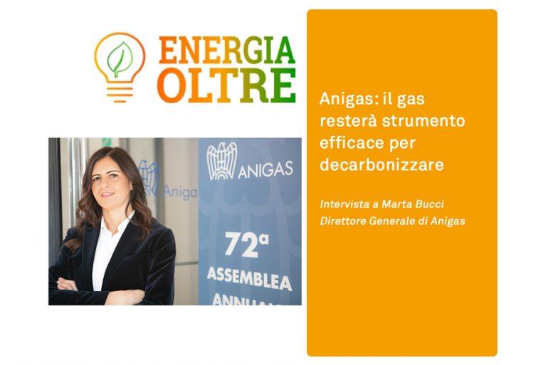 Anigas: il gas resterà strumento efficace per decarbonizzare