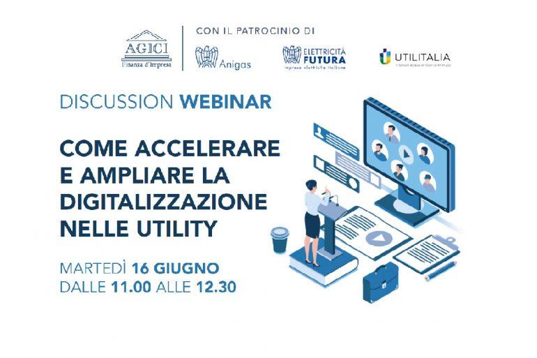 """Web Discussion """"Come accelerare e ampliare la digitalizzazione nelle Utility"""""""
