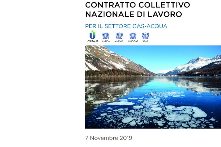 Testo contrattuale interattivo del CCNL Gas – Acqua 7 novembre 2019