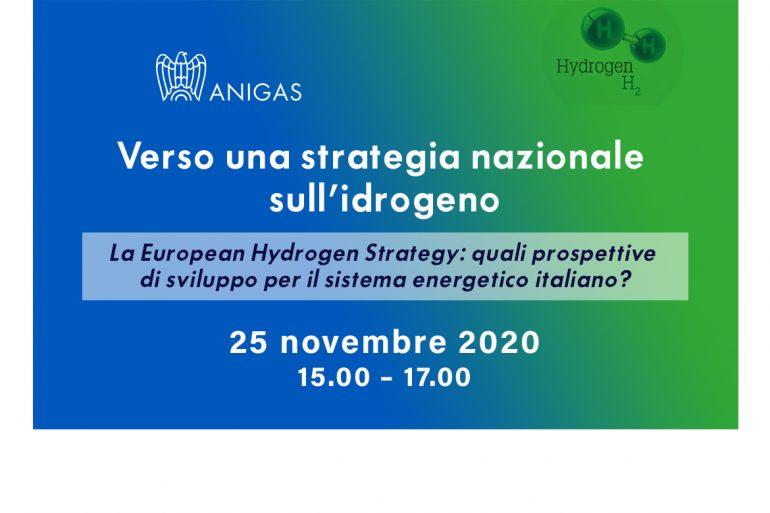 Webinar: Verso una strategia nazionale sull'idrogeno