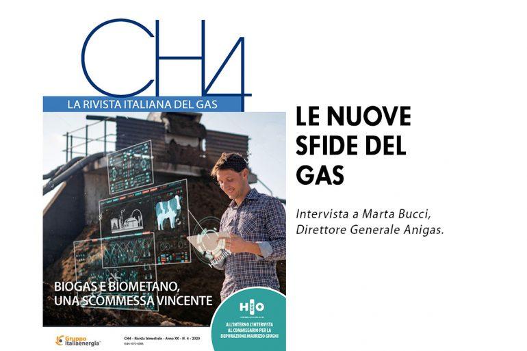 Le nuove sfide del gas. Intervista a Marta Bucci su CH4