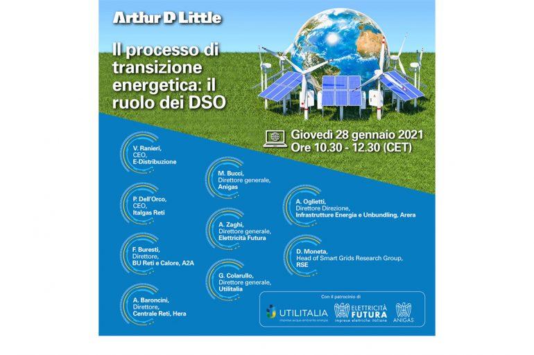 Webinar: Il processo di transizione energetica: il ruolo dei DSO