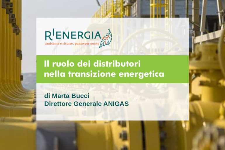 Il ruolo dei distributori nella transizione energetica