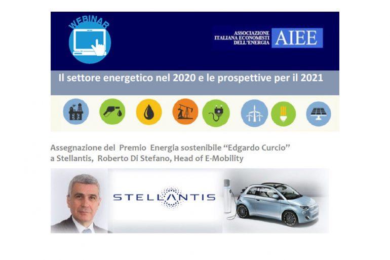"""Il settore energetico nel 2020 e le prospettive per il 2021 – Il Premio Energia Sostenibile """"Edgardo Curcio"""""""