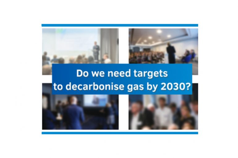 Do we need targets to decarbonise gas by 2030?